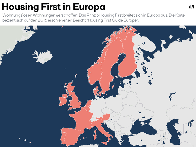 Housing First in Europa