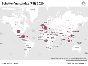 Schattenfinanzindex (FSI) 2020