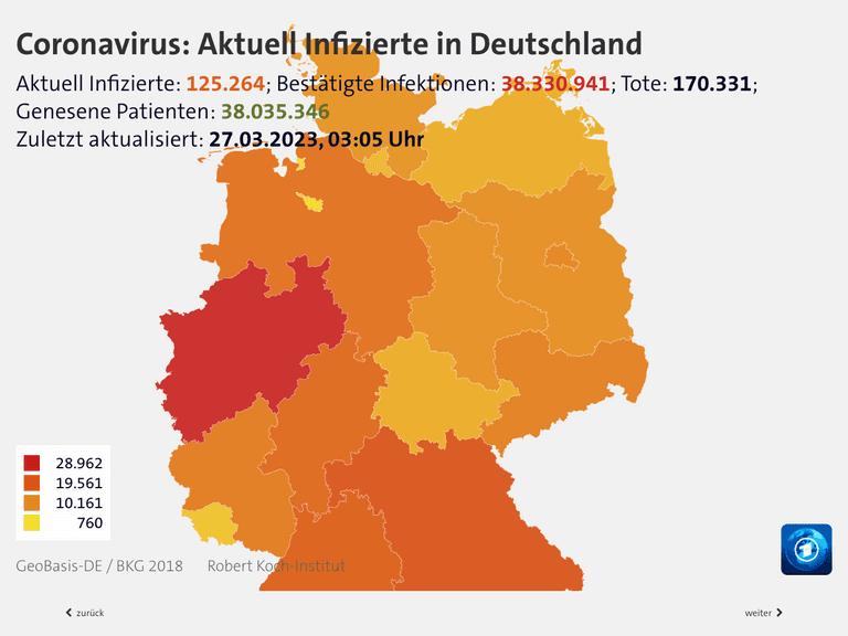 Coronavirus Zahlen Deutschland