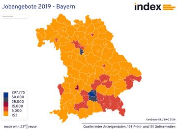 Jobangebote 2019 - Bayern