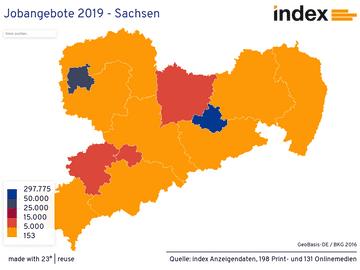 Jobangebote 2019 - Sachsen