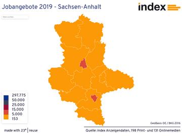Jobangebote 2019 - Sachsen-Anhalt