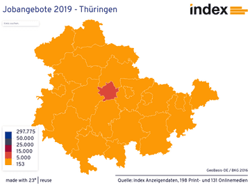 Jobangebote 2019 - Thüringen