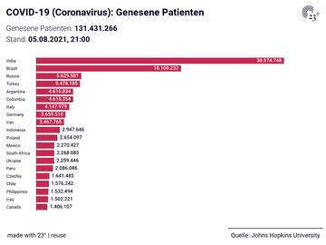 COVID-19 (Coronavirus): Genesene Patienten