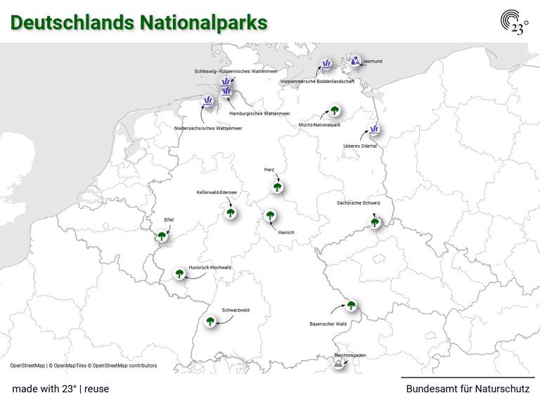 Deutschlands Nationalparks