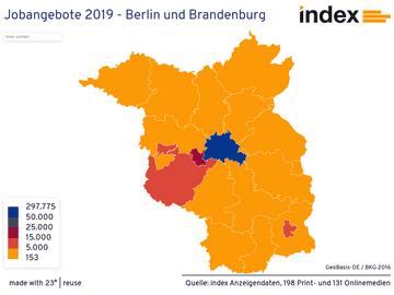 Jobangebote 2019 - Berlin und Brandenburg