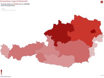 Coronavirus: Lage in Österreich