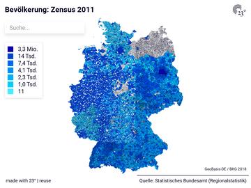 Bevölkerung: Zensus 2011
