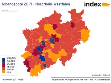 Jobangebote 2019 - Nordrhein-Westfalen