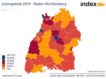 Jobangebote 2019 - Baden-Württemberg