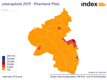 Jobangebote 2019 - Rheinland-Pfalz