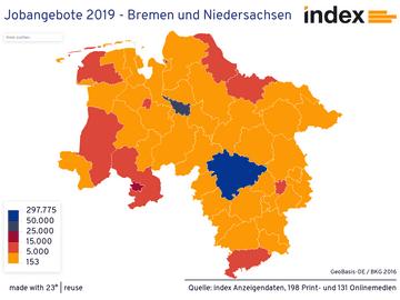 Jobangebote 2019 - Bremen und Niedersachsen