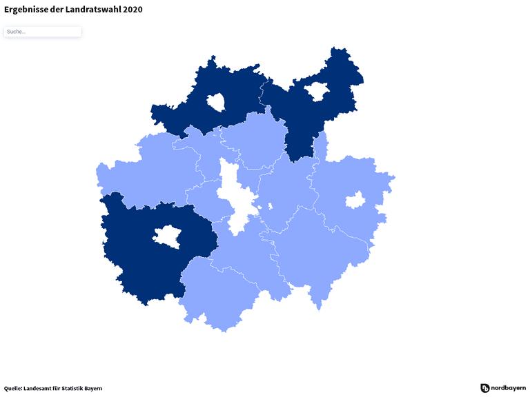 Ergebnisse der Landratswahl 2020